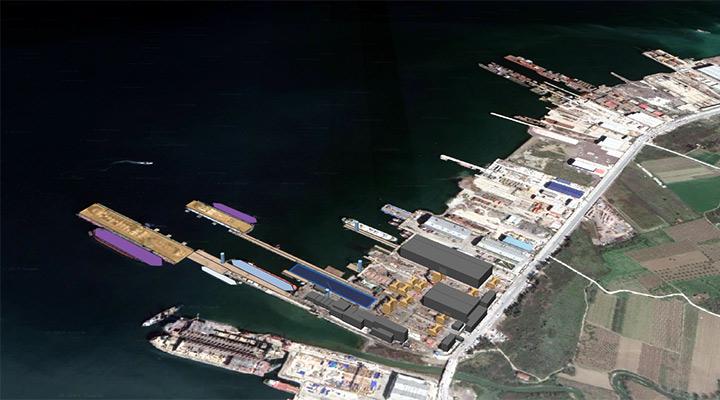 Smart Shipyard Map