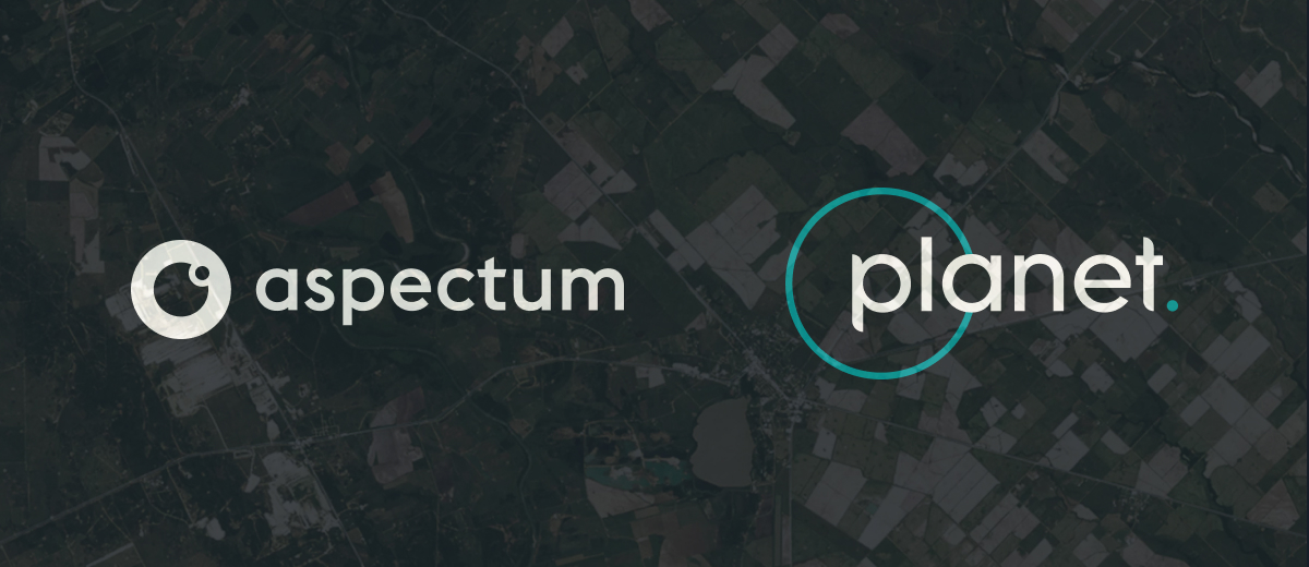 Powerful analytics paired with robust satellite imagery: Aspectum and Planet enter into a partnership