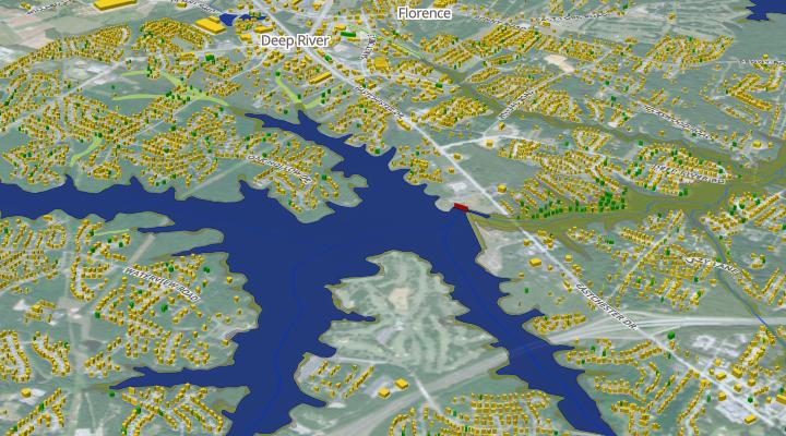 Flood risk monitoring