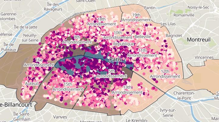 Paris real estate price