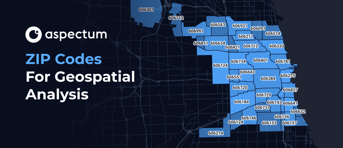 ZIP Codes For Geospatial Analysis