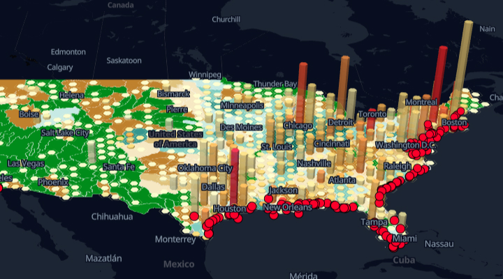 Industrial water pollution in US